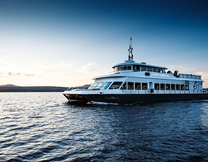 Cruise on Lake Memphremagog…